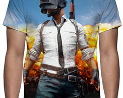 Camiseta Game PlayerUnknown's Battlegrounds PUBG Mod 02