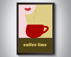 "Quadro ""Coffee Time"""