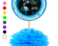 Kit 5 Enfeites de Mesa Harry Potter