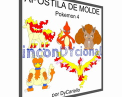 Apostila digital de molde Pokemon 4