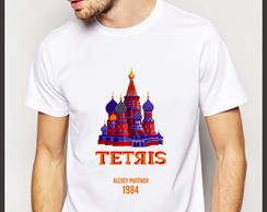 Camiseta Geek Games Tetris