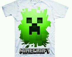 Camiseta estampada Minecraft