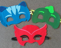 Kit Máscaras PJ Masks