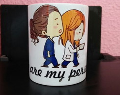 CANECA GREY´S ANATOMY YOU ARE MY PERSON