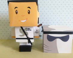 Paper Toy Customizado - Ninja