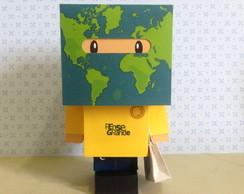 Paper Toy Customizado - Ecologia