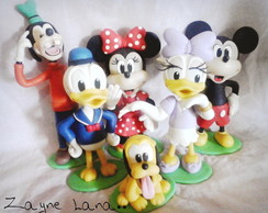 Enfeites de mesa Turma do Mickey Mouse