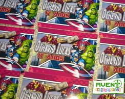 Marmitinha 250g Dos Vingadores Kids No Elo7 Avent Personalizados