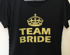 Camiseta Despedida Solteira Team Bride