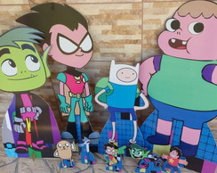 Kit Cartoon Network em mdf