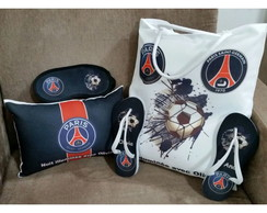 Kit Festa do Pijama Paris Saint Germain Personalizados