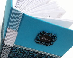 Agenda Planner Permanente com Costura Longstitch
