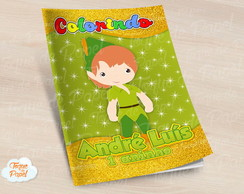 Revista colorir Peter Pan cute
