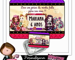 Tampa para marmitinha 500ml Ever after high