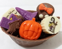 Halloween - Cesta de chocolate belga