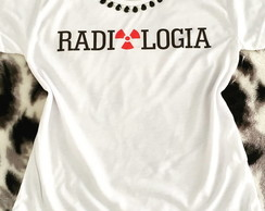 Baby Look Customizada - Radiologia