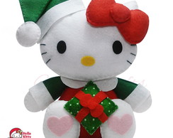 Hello Kitty de Natal - presente