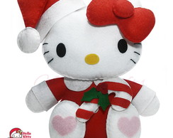 Hello Kitty de Natal - bengala