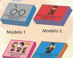Tag frente-Harry Potter-Modelo 1-7x5