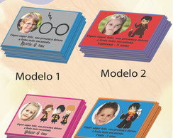 Tag com foto-Harry Potter-Modelo 1-7x5