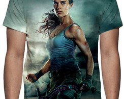 Camiseta Filme Tomb Raider A Origem - Estampa Total