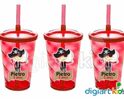 Copo Shake Twister Pirata