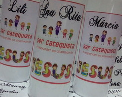Copo long Drink personalizado CATEQUISTA