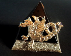 ORGONITE PIRAMIDAL DRAGON