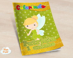 Revista colorir Tinkerbell cute