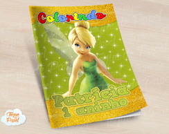 Revista colorir Tinkerbell