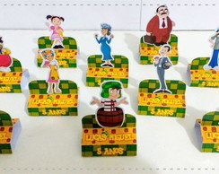 Porta Chocolate Duplo Turma do Chaves