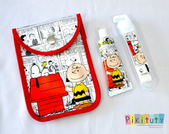 Kit Dental c/ porta escova Snoopy