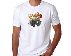 Camiseta Geek Clash of Clans Golen
