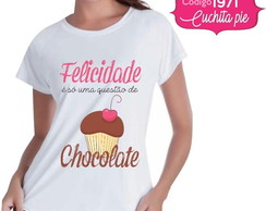 Baby look - Doceira - Chocolate