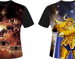Camiseta Cavaleiros do Zodiaco 02 - Touro