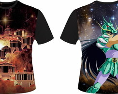 Camiseta Cavaleiros do Zodiaco 17 - Shiryu