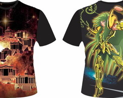 Camiseta Cavaleiros do Zodiaco 19 - Shion Aires