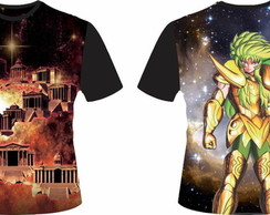 Camiseta Cavaleiros do Zodiaco 20 - Shion Aires 01