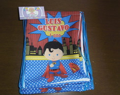 Mochilinha super man cute