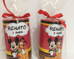Cofrinho personalizado Mickey e Minnie