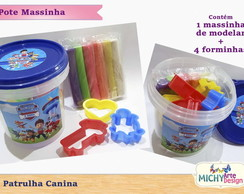 Pote Kit Massinha Patrulha Canina