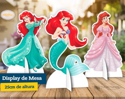 Display de Mesa Ariel Pequena Sereia