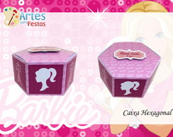 Caixa Hexagonal Barbie
