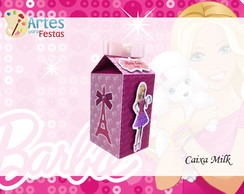 Caixa Milk Barbie