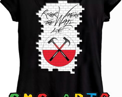 camiseta Roger waters pink floyd turne 2018