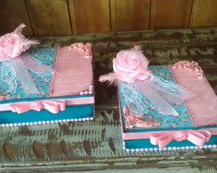 KIT CAIXAS SHABBY CHIC
