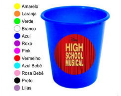 Kit 30 Baldes de Pipoca High School Musical