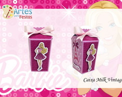 Caixa Milk Vintage Barbie