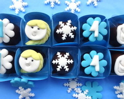 Bombons decorados Frozen