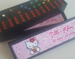 DOMINÓ PERSONALIZADO HELLO KITTY